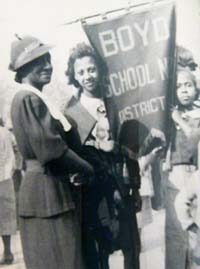 Students from Boyds Negro School